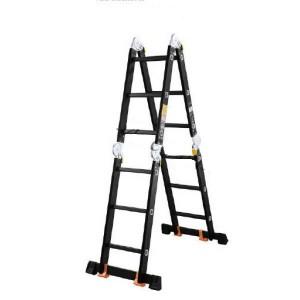 Лестница 4х3 трансформер МИ ПРОФИ 12,5 кг большой замок