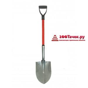 Лопата штыковая фиберглассовый черенок 105см