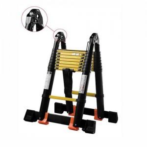 Лестница-стремянка телескопическая МИ ПРОФИ 1.6м/3.2м 5 ступеней