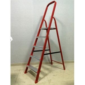 Стремянка сталь МИ 4ст красная
