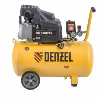 Компрессор воздушный DK1500/50, Х-PRO 1.5 кВт, 230 л/мин, 50 л Denzel